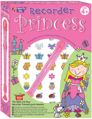 Recorder  Princess Set, An  ideal gift pack for children