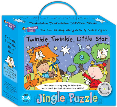 Activity music pack for 3 to 6yrs - Twinkle Twinkle Little Star