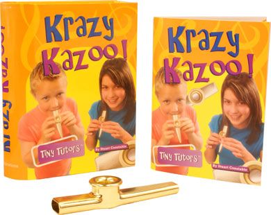 Tiny Tutor Packs with instrument Kazoo