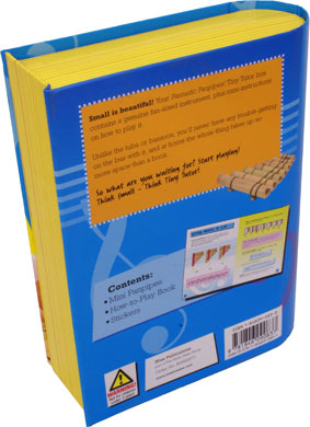 Tiny Tutor Packs with instrument Pan Pipes