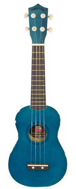 Coloured ukulele - Blue