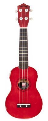 Coloured ukulele - Red