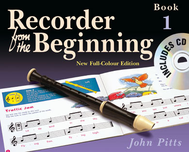 Recorder from the Beginning Book1