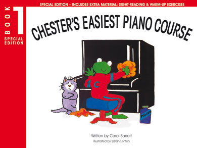 Chester's Easiest Piano Course - Book 1