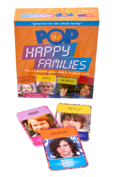 Pop Happy Families